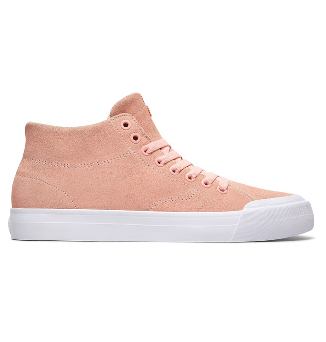 0 Men's Evan Smith Hi Zero High Top Shoes Pink ADYS300423 DC Shoes