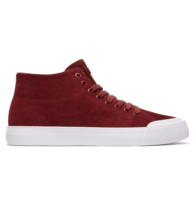 0 Men's Evan Smith Hi Zero High Top Shoes Red ADYS300423 DC Shoes