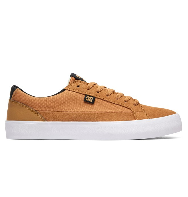 0 Men's Lynnfield S Skate Shoes Brown ADYS300463 DC Shoes