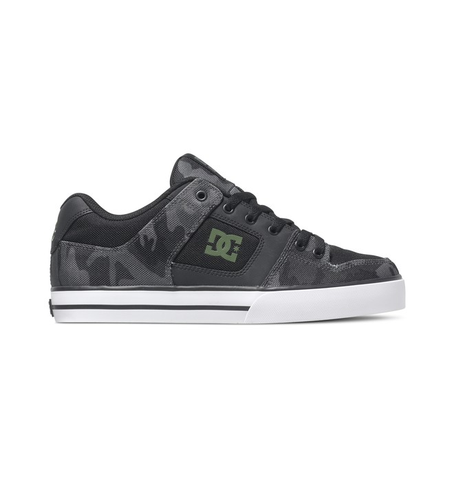 0 Men's Pure SP Shoes Black ADYS400001 DC Shoes