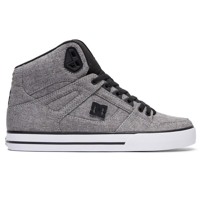 0 Men's Spartan High WC TX SE High Top Shoes Black ADYS400004 DC Shoes
