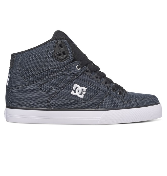 0 Men's Spartan WC TX SE High-Top Shoes Black ADYS400004 DC Shoes