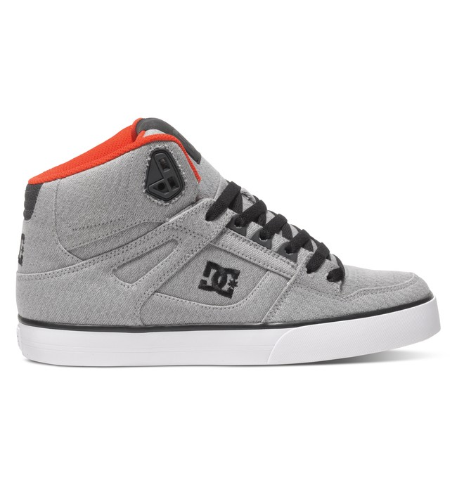 0 Men's Spartan WC TX SE High-Top Shoes Grey ADYS400004 DC Shoes