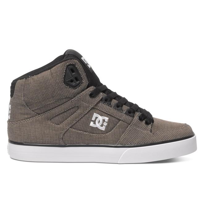 0 Men's Spartan WC TX SE High-Top Shoes Brown ADYS400004 DC Shoes