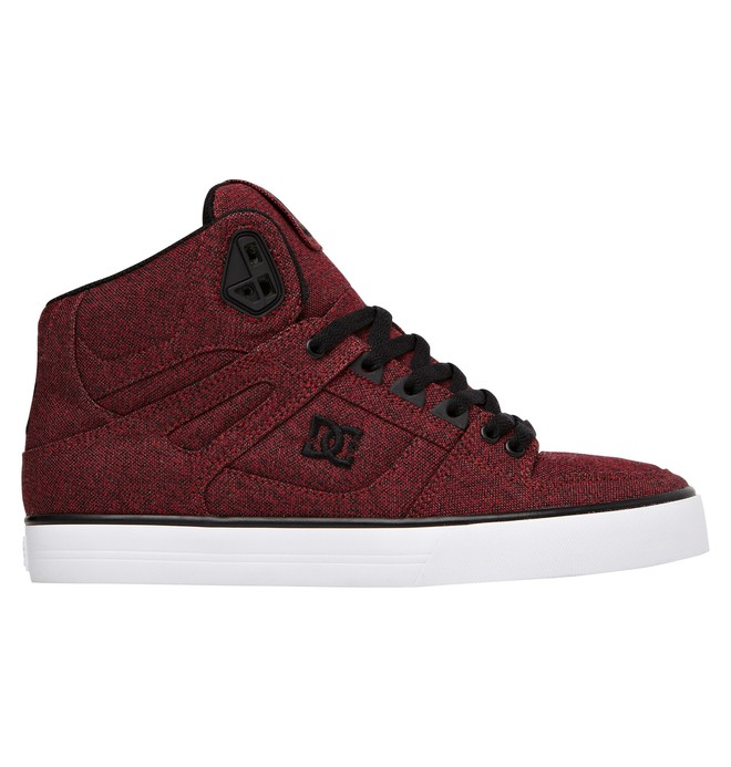 0 Men's Spartan High WC TX SE High Top Shoes Red ADYS400004 DC Shoes