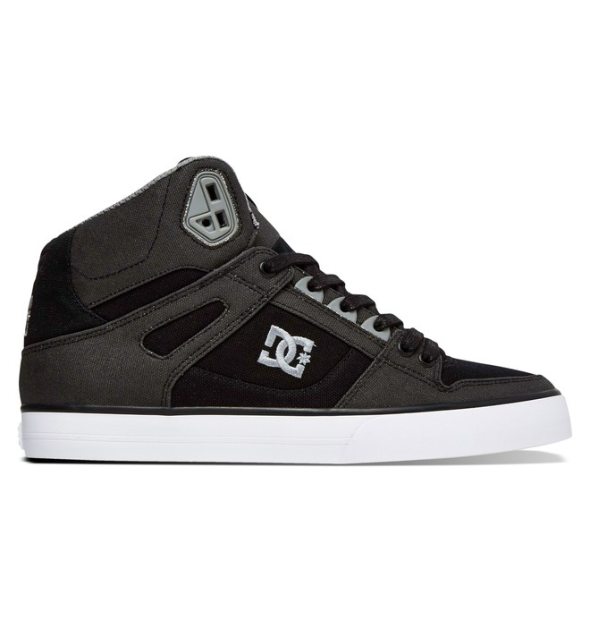 0 Men's Spartan High WC TX SE High Top Shoes Black ADYS400004 DC Shoes