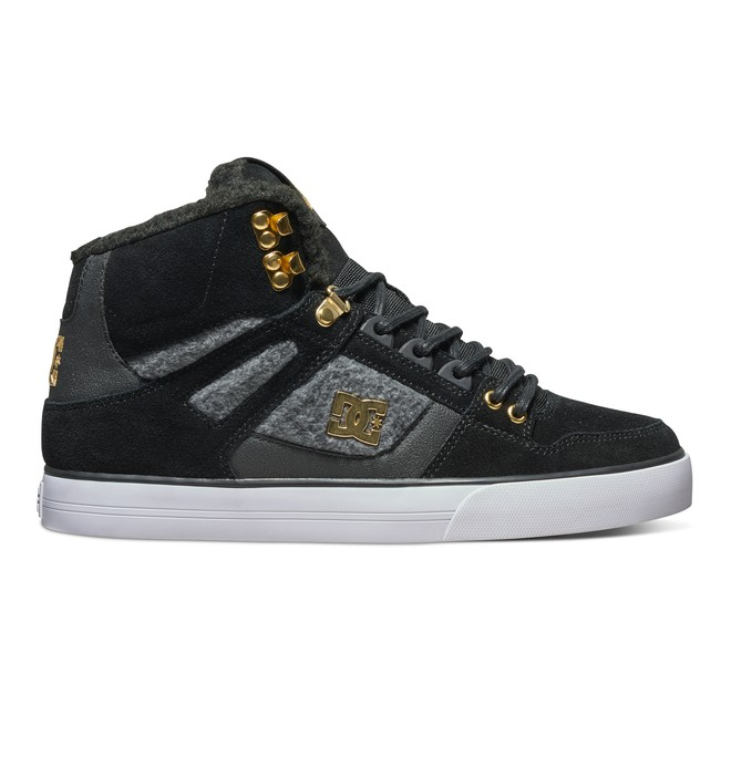 0 Men's Spartan WC WNT High-Top Shoes Black ADYS400005 DC Shoes