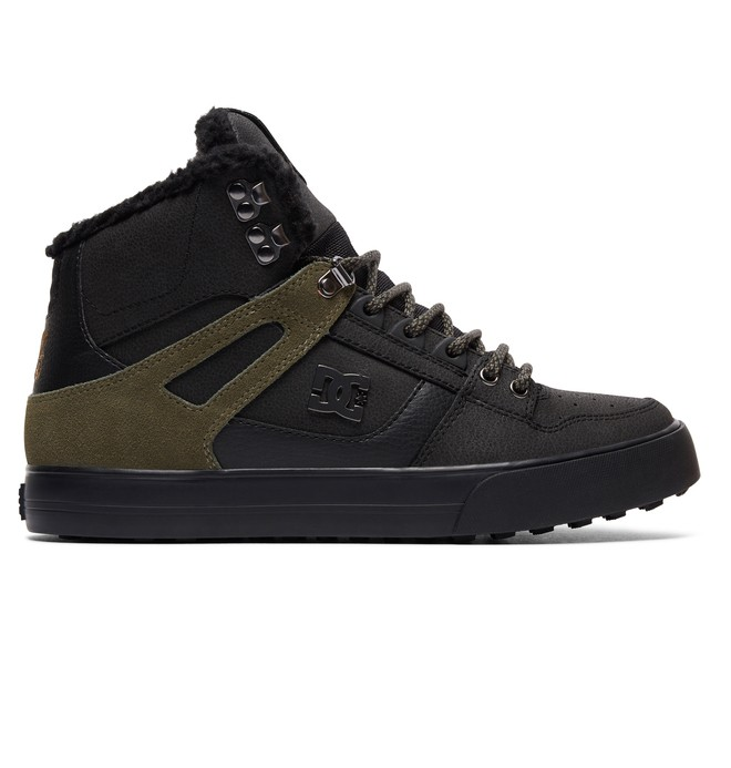 0 Men's Spartan High WC WNT High Top Shoes Brown ADYS400005 DC Shoes