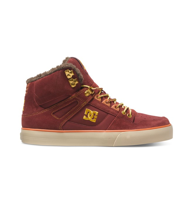 0 Men's Spartan WC WNT High-Top Shoes Brown ADYS400005 DC Shoes