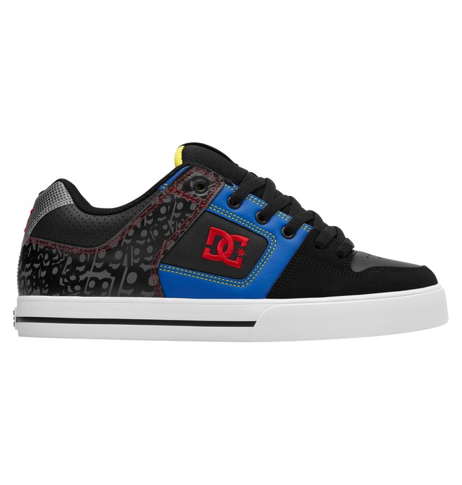0 Men's Pure Travis Pastrana Shoes Black ADYS400008 DC Shoes