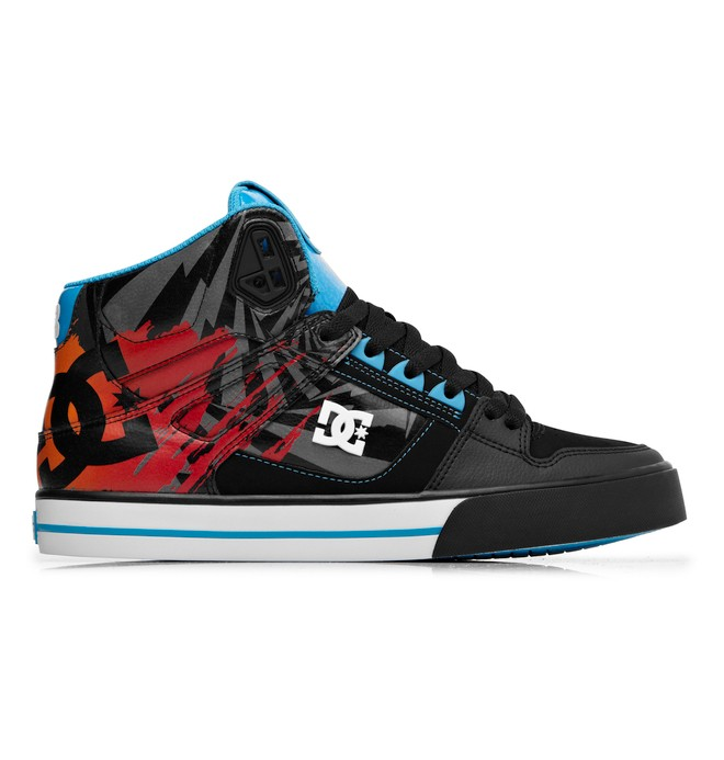 0 Men's Ken Block Spartan High WC Shoes Black ADYS400016 DC Shoes