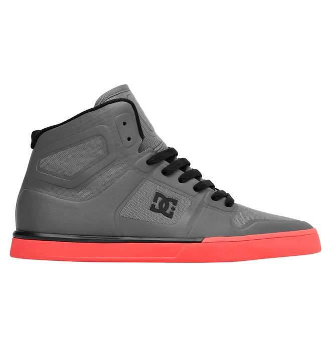 0 Men's Pure NS High Shoes Grey ADYS700012 DC Shoes