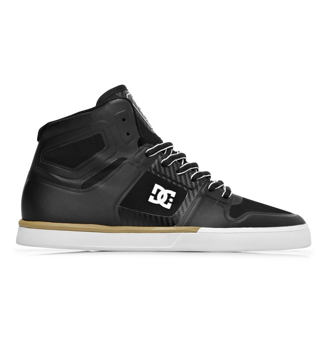 0 Men's Pure NS High Shoes Black ADYS700012 DC Shoes