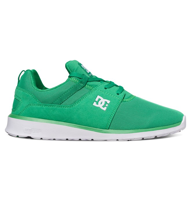0 Men's Heathrow Shoes Green ADYS700071 DC Shoes