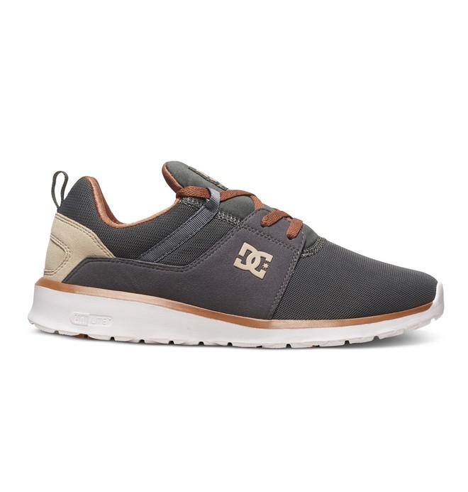 0 Men's Heathrow Shoes Grey ADYS700071 DC Shoes