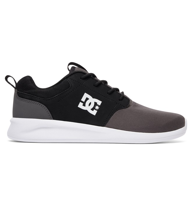0 Men's Midway SN Shoes Black ADYS700096 DC Shoes