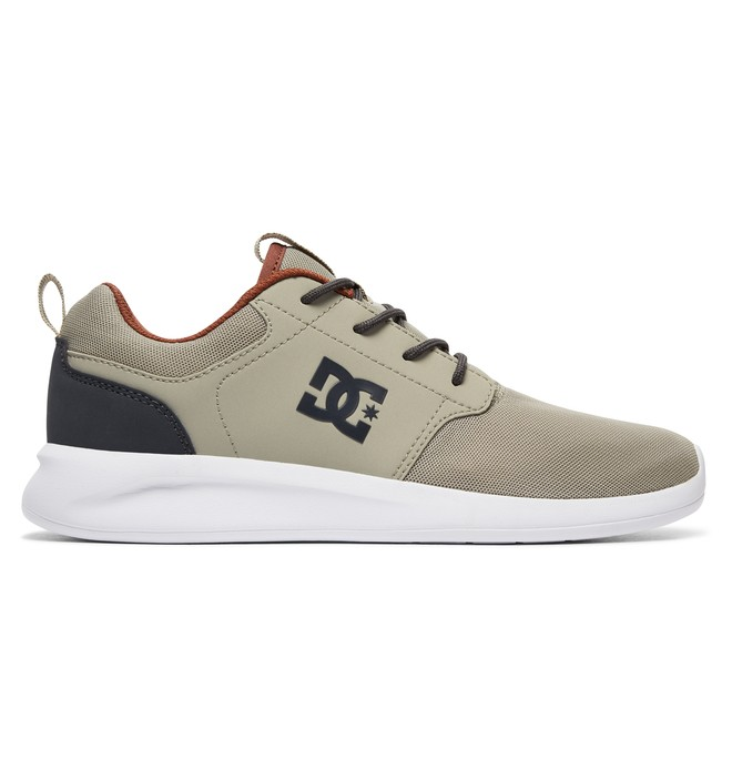 0 Men's Midway SN Shoes Grey ADYS700096 DC Shoes