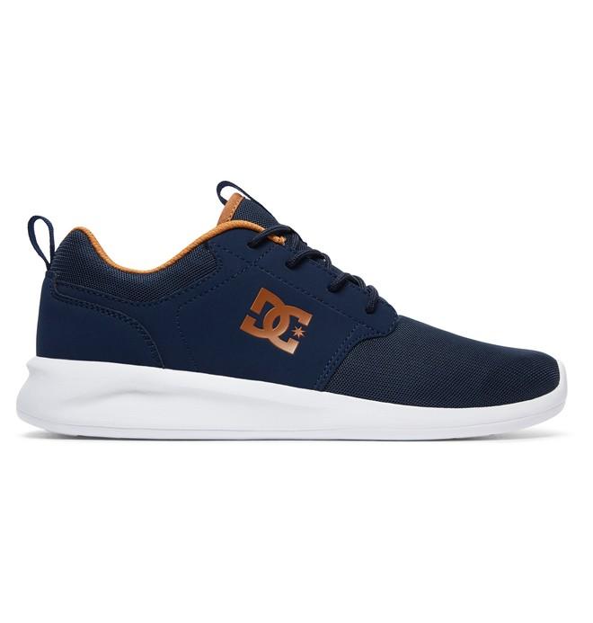 0 Men's Midway SN Shoes Black ADYS700096 DC Shoes