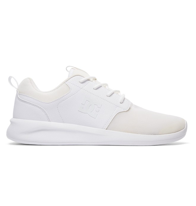 0 Men's Midway Shoes White ADYS700096 DC Shoes