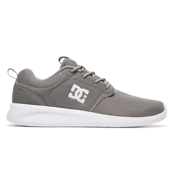 0 Men's Midway Shoes Grey ADYS700097 DC Shoes