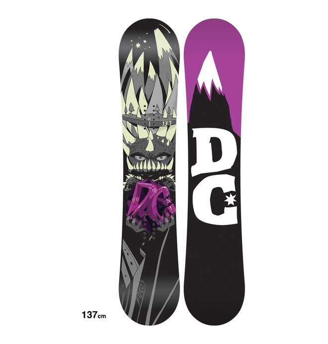 0 Men's Focus Snowboard  ADYSB00009 DC Shoes