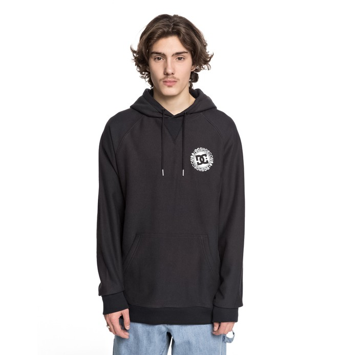 0 Core - Sudadera con Capucha Negro ADYSF03020 DC Shoes
