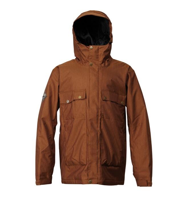 0 Men's Ambush Snowboard Jacket Brown ADYTJ00007 DC Shoes