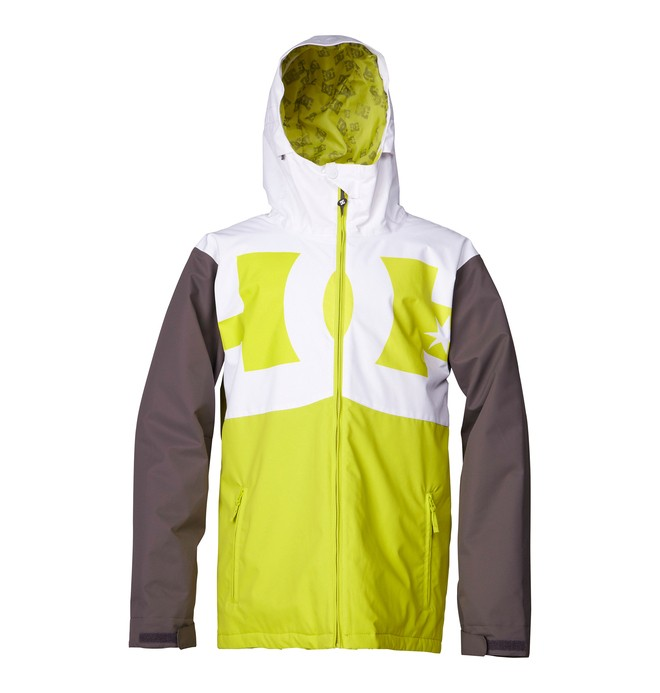 0 Men's Billboard Snowboard Jacket Green ADYTJ00012 DC Shoes