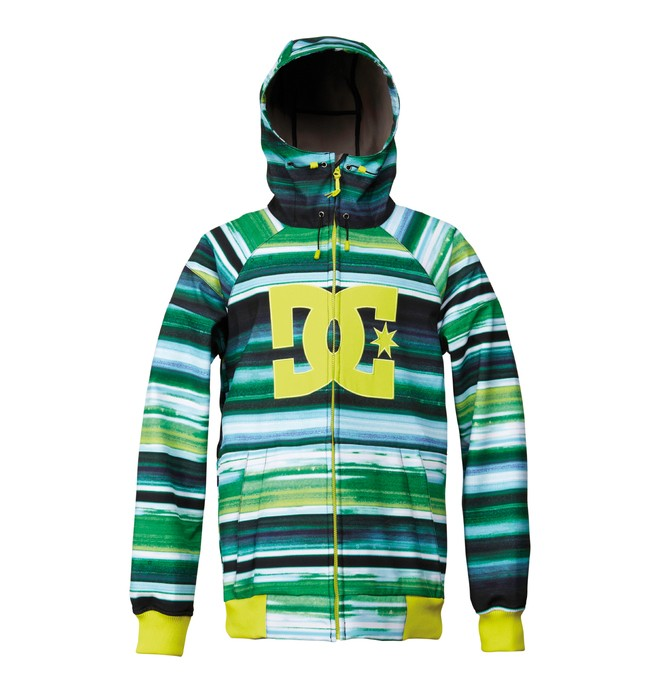 0 Men's Spectrum Snowboard Jacket Green ADYTJ00013 DC Shoes
