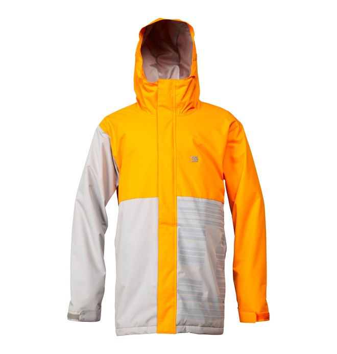 0 Men's Union Snowboard Jacket Orange ADYTJ00015 DC Shoes