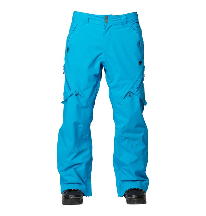 0 Men's Recon Snowboard Pants Blue ADYTP00000 DC Shoes