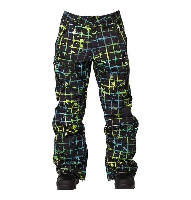 0 Men's Recon Snowboard Pants Black ADYTP00000 DC Shoes
