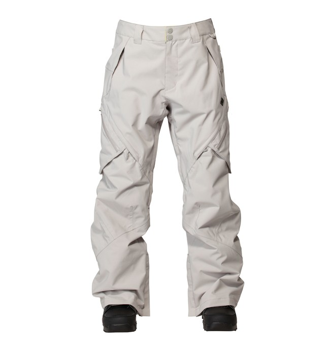 0 Men's Recon Snowboard Pants Grey ADYTP00000 DC Shoes