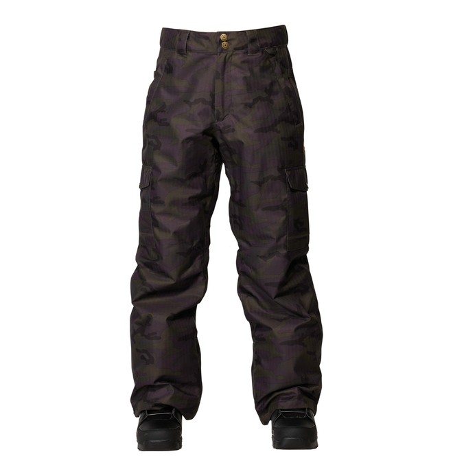 0 Men's Code Snowboard Pants Black ADYTP00007 DC Shoes