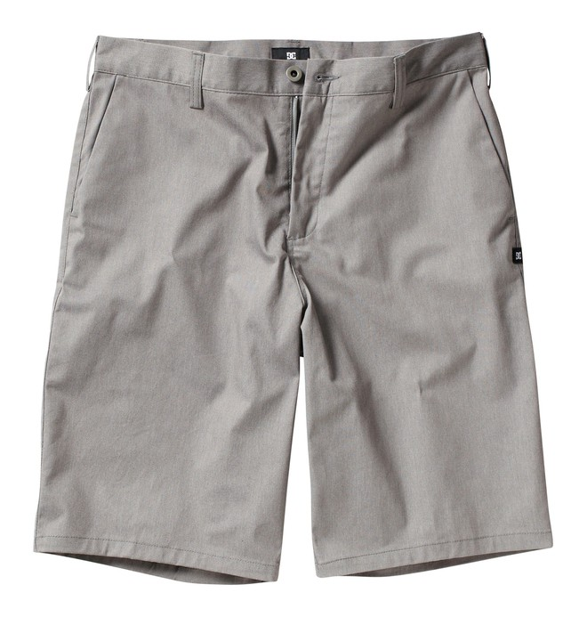 0 Men's DC Worker Short Grey ADYWS00014 DC Shoes