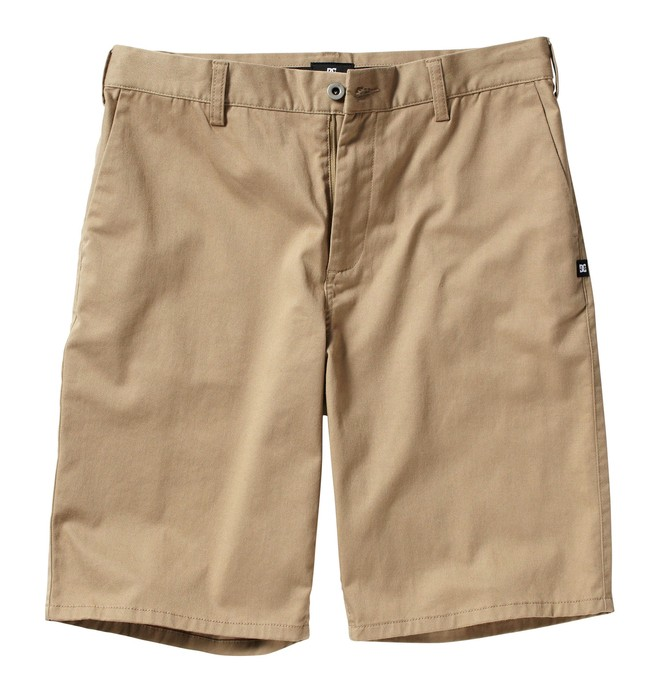 0 Men's DC Worker Short Beige ADYWS00014 DC Shoes