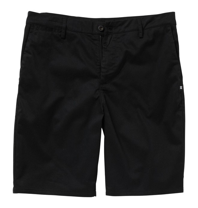 0 Men's DC Straight Fit Worker Short Black ADYWS00015 DC Shoes