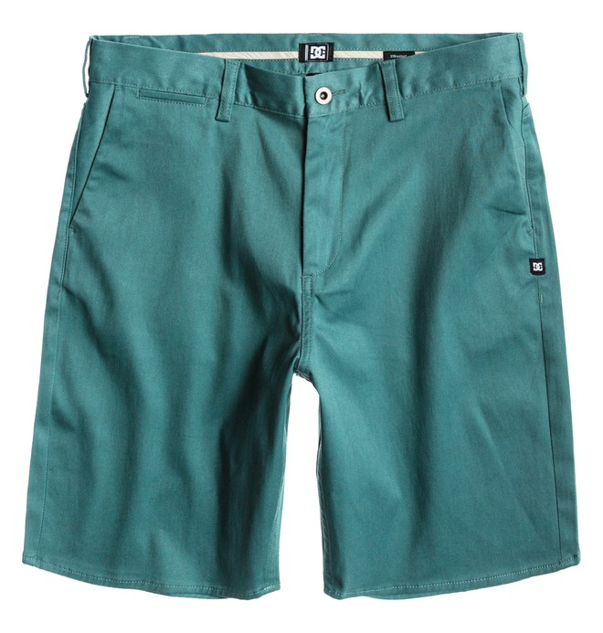 0 Men's DC Straight Fit Worker Short Blue ADYWS00015 DC Shoes
