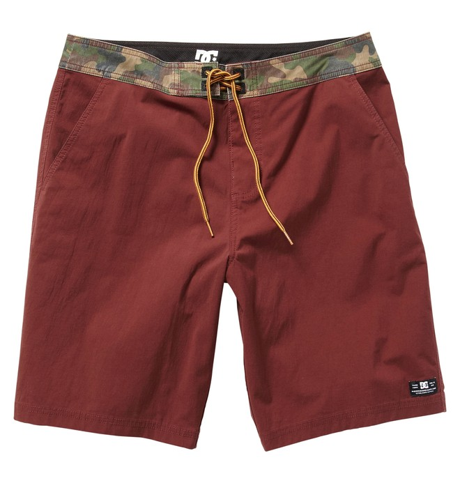 0 Men's Greenmount Hybrid Boardshorts Red ADYWS00024 DC Shoes