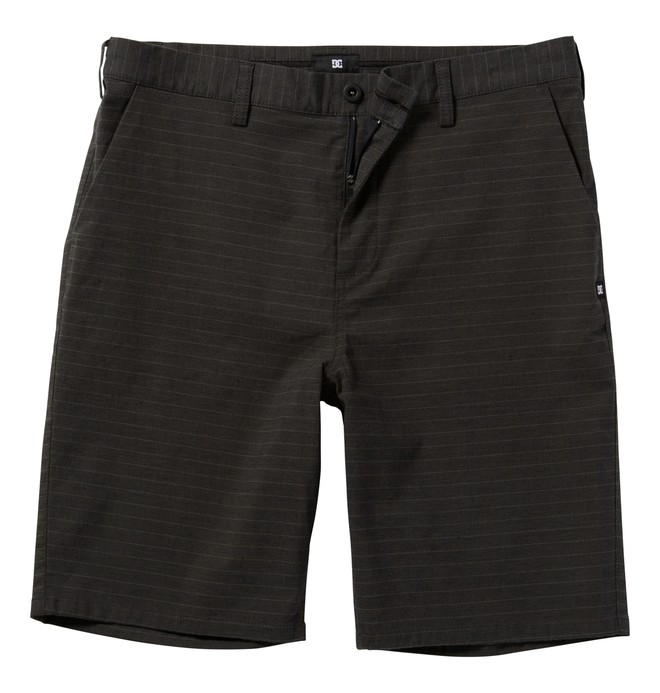 0 Men's Pinns Straight Short Walkshort Black ADYWS00040 DC Shoes