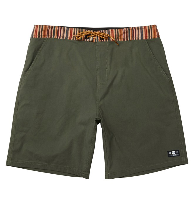 0 Men's Moonshadow Walkshort Brown ADYWS00061 DC Shoes