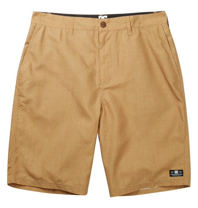 0 Worker Hybrid Shorts Brown ADYWS00062 DC Shoes