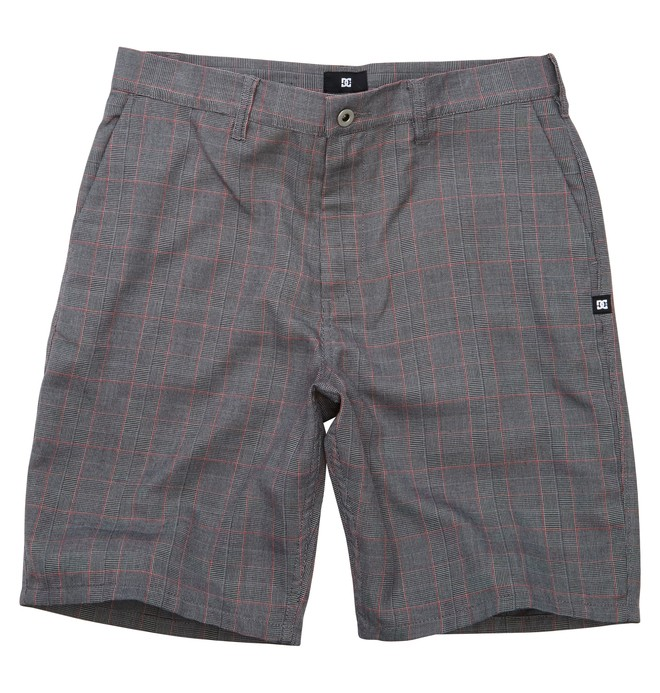 0 Men's Blank Check Walkshort  ADYWS00067 DC Shoes