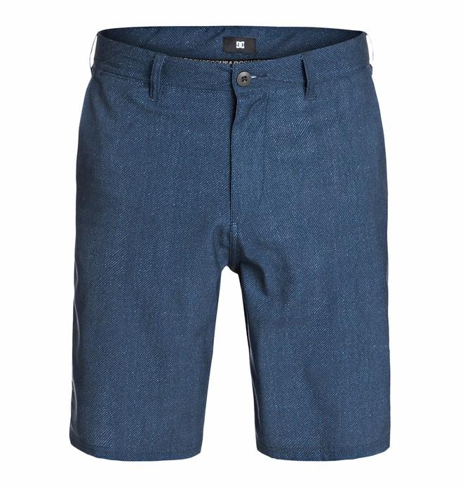 0 Men's Worker Hybrid Straight Shorts Walk Shorts  ADYWS03005 DC Shoes