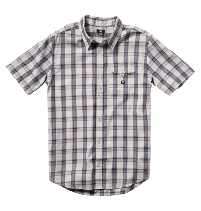 0 Men's Eschaton Short Sleeve Shirt  ADYWT00002 DC Shoes