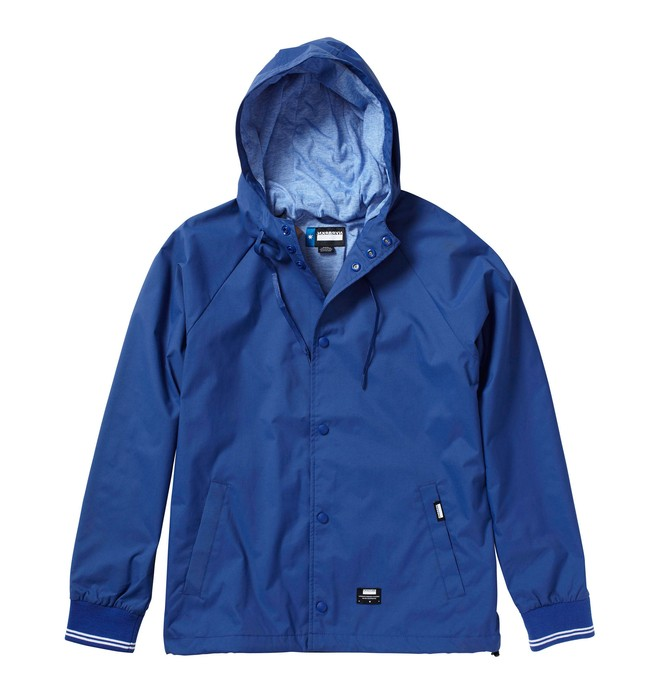 0 Men's NVRBRKN. El Wazbo Jacket Blue ADYWT00005 DC Shoes