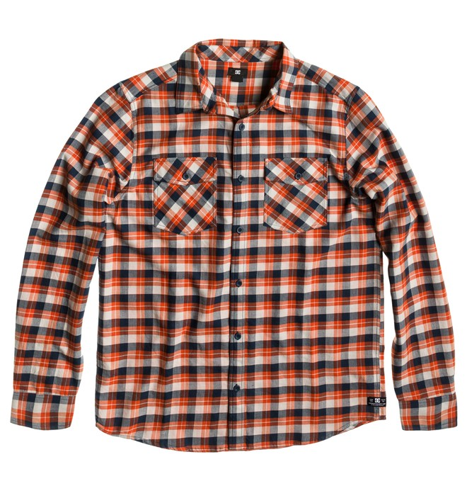 0 Men's  Long Sleeve Flannel Shirt  ADYWT00012 DC Shoes
