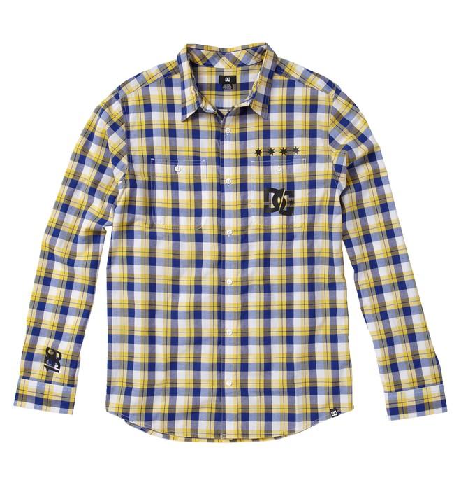 0 Men's Travis Pastrana Long Sleeve Shirt  ADYWT00016 DC Shoes