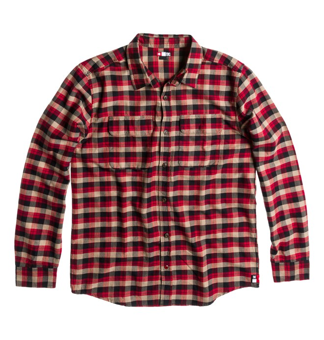 0 Men's Truckee Long Sleeve Shirt  ADYWT00020 DC Shoes