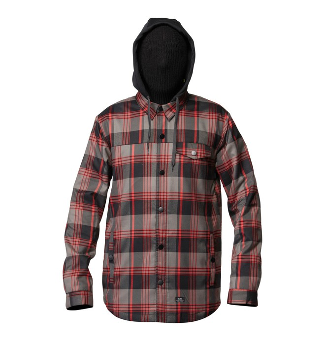 0 Men's Fernwood Button up Hoodie  ADYWT00021 DC Shoes